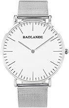 Comprar Alienwork Classic St.Mawes Reloj cuarzo elegante cuarzo moda diseño atemporal clásico Metal plata plata U04916G-01