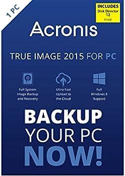 Acronis Backup & Utilities Software