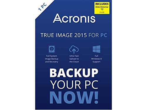 Acronis True Image 2015 with Disk Director 12 Bundle