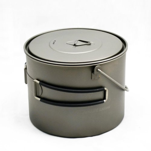 TOAKS Titanium 1300ml Pot with Bail Handle (Titanium Cookware Toaks compare prices)