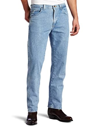 Wrangler Men's Rugged Wear Classic Fit Jean, Rough Wash, 38W x 29L