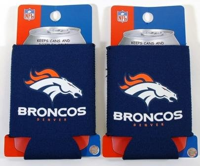 SET OF 2 DENVER BRONCOS NFL CAN KADDY KOOZIES at Amazon.com