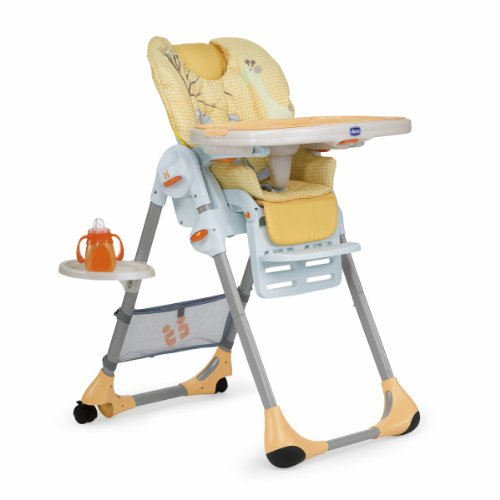 Read More Chicco Polly Highchair (Zanzibar/Orange)
