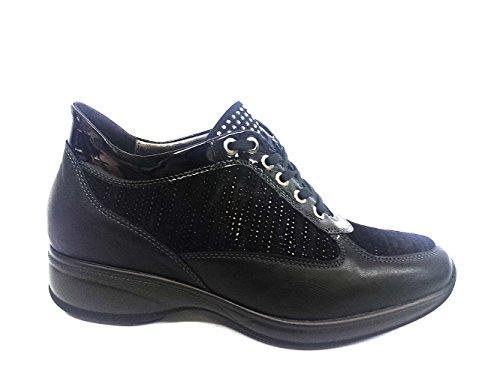 06048NERO Scarpa donna Melluso sneaker modello Hogan nero