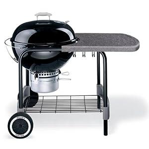 Weber 761079 One Touch Platinum Barbecue Noir 57 cm: Jardin