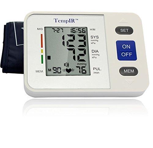 TempIR Blutdruckmessgerät, große Armmanschette