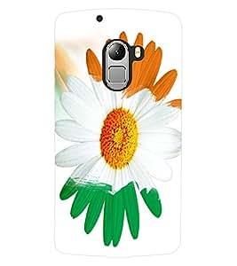 ColourCraft Beautiful Flower Design Back Case Cover for LENOVO A7010