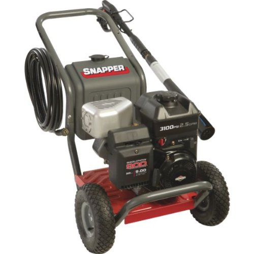 Snapper 20397 2.5-Gpm 3100-Psi Gas Pressure Washer With 900 Series Ohv Gas-Powered Pressure Washer With 30-Foot Hose And Detergent Tank