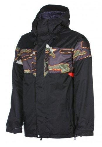 Volcom Over Ski Snowboard Jacket Black Sz L