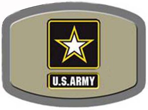US Army Licensed Army Strong Star LOGO Belt Buckle