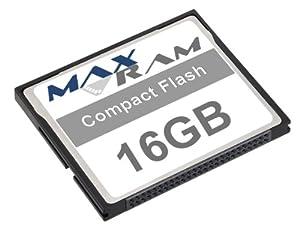 MaxRam 16GB Compact Flash Memory Card