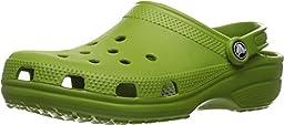 Crocs Unisex Classic Clog Parrot Green Clog/Mule Men\'s 8, Women\'s 10 Medium