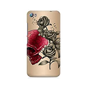 Mobicture Skull Premium Printed Case For Micromax Canvas Fire 4 A107