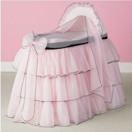 Sherbert Bassinet Liner/Skirt and Hood - Size: 17x31 - 1