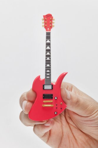 """hide Guitar Collection """"ショッキングピンク"""" - Official Figure set -"""