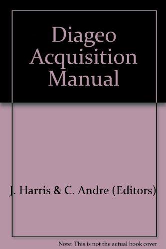 diageo-acquisition-manual
