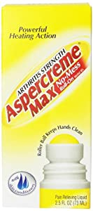 Aspercreme Max No-Mess Roll-On Pain Relieving Liquid, 2.5 fl Ounce