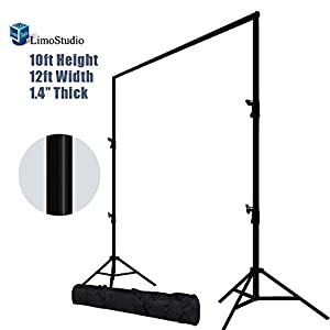 LimoStudio 12ft Heavy Duty Backdrop Support System, AGG1782