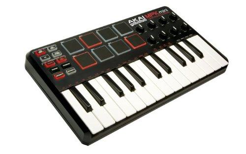 Akai MPKmini MIDI controller