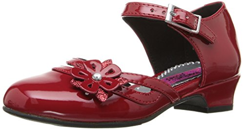 Rachel Shoes Girls' Lil Jenni Wedge, Red Patent, 11 M US Little Kid (Lil Kids Shoes compare prices)