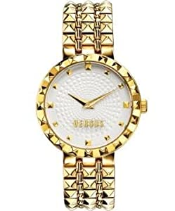 Versus by Versace Women's SOD040014 Coral Gables Analog Display Quartz Gold Watch