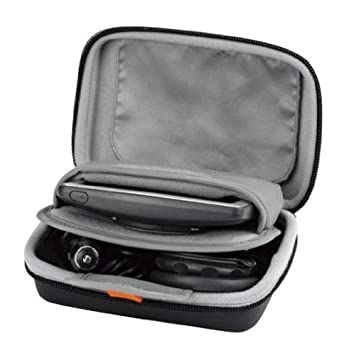 Navitech Black Protective Portable Handheld Binocular Case and Travel Bag Compatible with The Leica Geovid 8 x 42 HD-B 3000