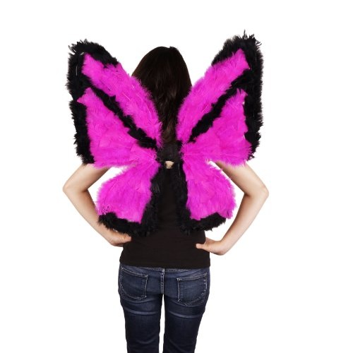 Zucker Feather Products Day-Glo Butterfly Wings