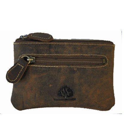 """Greenburry 170825 - Astuccio portachiavi, in pelle, modello """"Vintage"""",  marrone"""