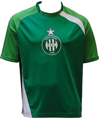 Maillot supporter ASSE - Collection officielle AS SAINT ETIENNE - Football club Ligue 1 - Taille adulte Homme XXL