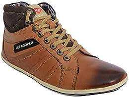 Lee Cooper Tan Casual Sneakers