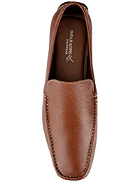 Imparadise Footwear Men Tan Slip On Loafers IMF5028_TAN