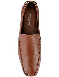 Imparadise Footwear Men Tan Slip On Loafers IMF5028_TAN