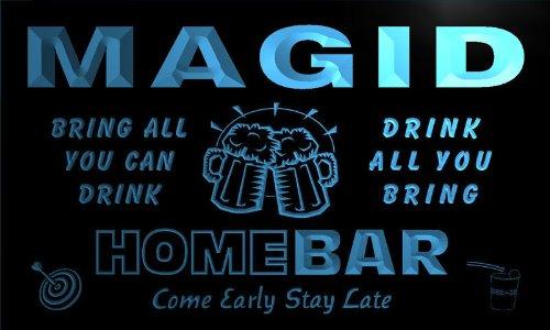 q27796-b-magid-family-name-home-bar-beer-mug-cheers-neon-light-sign