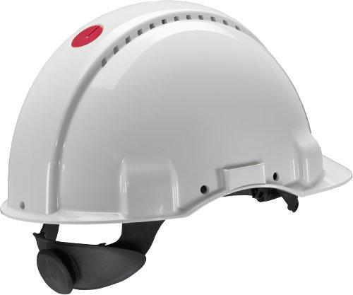 3M-Peltor-Schutzhelm-G3000-G30NUW-mit-3M-Uvicator-Sensor-ABS-mit-Schweiband-und-Ratschensystem-belftet-wei