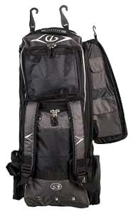 "Diamond Boost Baseball/Softball Wheeled Player's Bag 35"" x 13"" x 12"" (Black)"