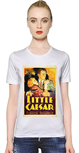 little-caesar-poster-la-camiseta-de-las-mujeres-women-t-shirt-girl-ladies-stylish-fashion-fit-custom