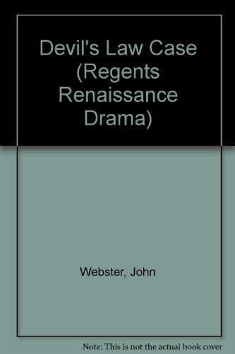 Devils Law-Case (Regents Renaissance Drama)