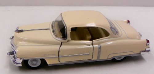 Kinsmart 1/38 Scale Diecast 1953 Cadillac Series 62 Coupe in Color Creme