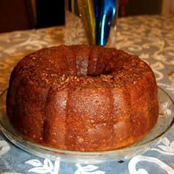 APPLE RUM CAKE GREAT DESSERT FOR THE HOLIDAY SEASON! ORGANIC! TASTY!