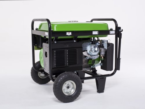 Lifan Energy Storm ES5500E 5500 Watt Lifan 11 HP OHV 337cc 4-Stroke Gas Powered Portable Generator with Electric Start and Wheel Kit with Never-Flat Foam Filled Tires
