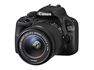 Canon EOS 100D Digital SLR Camera - (EF-S 18-55mm f/3.5-5.6 IS STM Lens,18MP, CMOS Sensor) 3 inch LCD