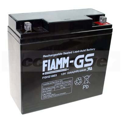 Fiamm FGC21803 batterie au plomb 12V cyclique, 18Ah