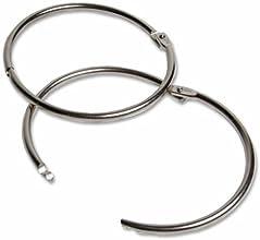 Wholesale CASE of 25 - Charles Leonard Multipurpose Book Rings-Multi-Purpose Rings 3quot Diameter Al