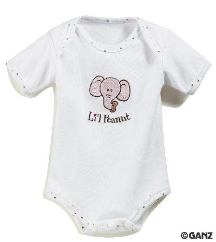 Ganz LiL Peanut 3-Pc Baby Gift Set Pink Elephant - 1