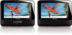 """Philips - PD7022 - Lecteur DVD portable - DivX - Ecran 7"""" - Kit voiture inclus"""