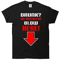 Drunk, Free Breathalyzer T-Shirt