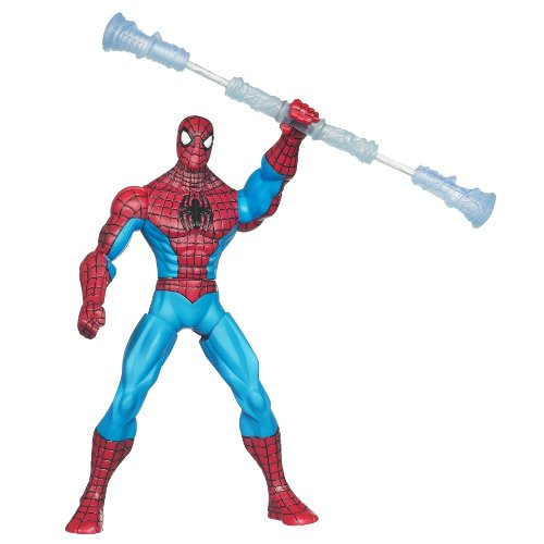 Spiderman With Staff Spinners