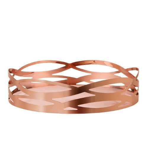 Stelton 1-Piece Copper-Covered Steel with Dirt-Repellent Coating Tangle Dish, Copper by Stelton