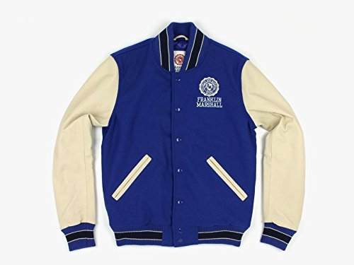 Franklin and Marshall, Uomo, Jackets Varsity, Lana, Giacca, Blu, L EU