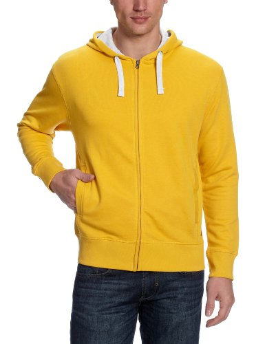Fruit Of The Loom Michigan Hoody Men's Sweatshirt Mustard Yellow XX-Large